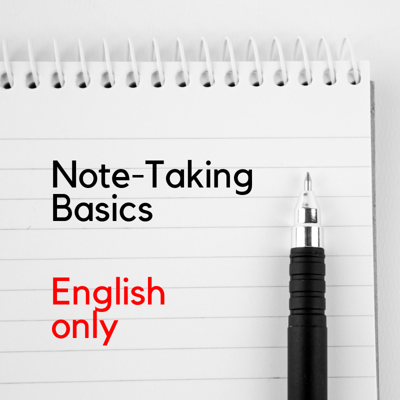 Recorded Webinar - Interpreter's Toolkit: Note-Taking Strategies (EN)