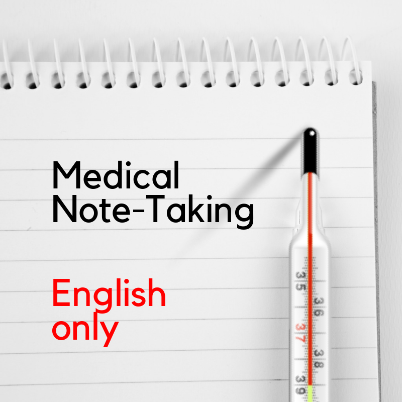 Recorded Webinar - Interpreter's Toolkit: Medical Note-Taking (EN)