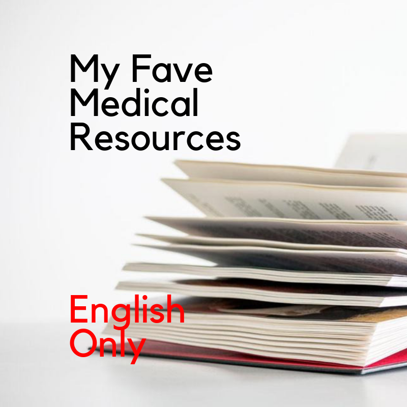 Recorded Webinar - My Favorite Medical Resources